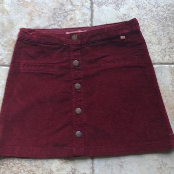 Zara Other - EUC Like New! Zara Girls size 8 maroon skirt